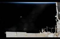 ISS radio box falling towards earth