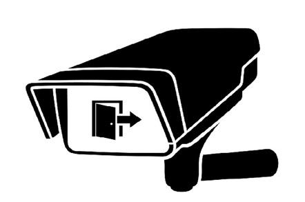 Surveillance camera with backdoor