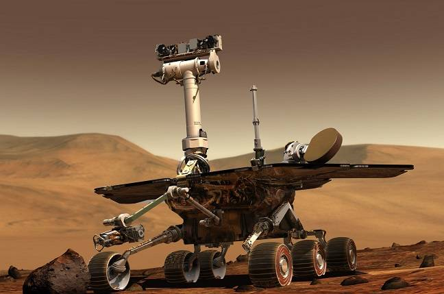 NASA Mars Opportunity rover just completed 5000 locals days on the planet