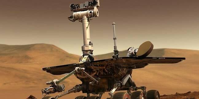 NASA Opportunity Rover on Mars (pic: NASA)