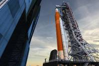 NASA's SLS on the mobile launcher