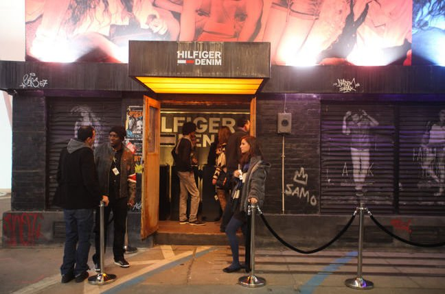 berlin nightclub bouncer won't let someone in - not on the list