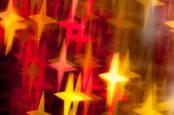 Blurred stars