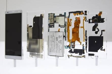 Sony's XZ2 deconstructed
