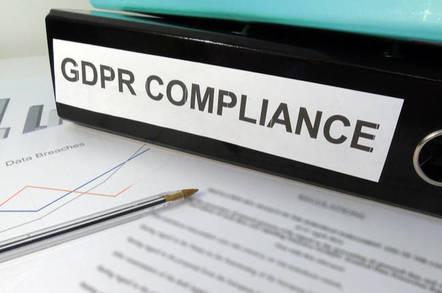 GDPR compliance paperwork