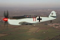 Buchon G-AWHC side view. Pic: Air Leasing Ltd via Platinum Fighter Sales