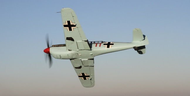 The Buchon's belly. Pic: Air Leasing Ltd via Platinum Fighter Sales