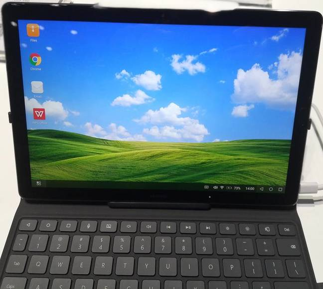 Homage to Windows XP? Huawei MediaPad M5 PC Experience