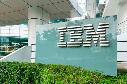 An IBM office