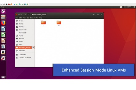 Ubunutu Enhanced Session Mode under Hyper-V