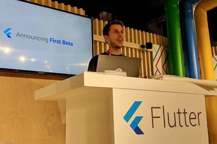 Google announces the beta of Flutter, a cross-platform development framework