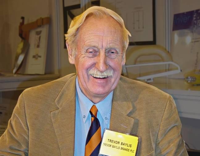Inventor Trevor Baylis dies aged 80