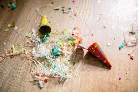 after-party mess