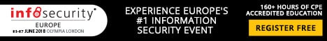 Advertisement. Infosecurity Europe 2018 Learn more.