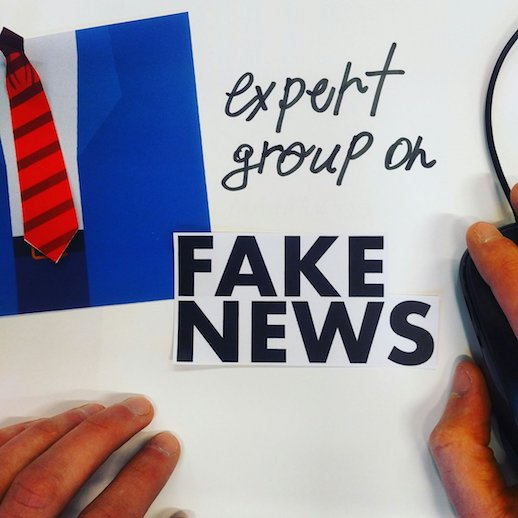 European Commission graphic - Fake News Working Group