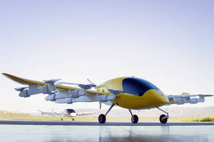 Kitty Hawk's Cora electric air taxi