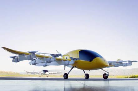 Kitty Hawk's Cora electric air taxi