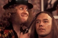 Vic and Bob as Noddy Holder and Dave Hill
