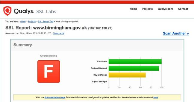 Birmingham motorists face infosec payment peril