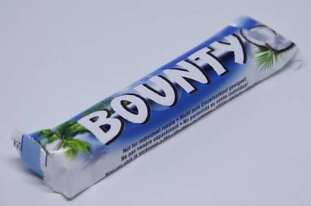 Bounty chocolate - Shuterstock