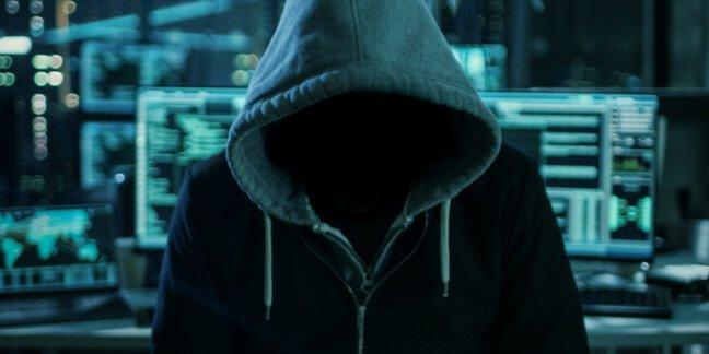 Archetypal hacker in a hoodie (is this how we all must surf pron from now on?)