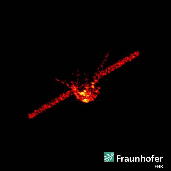 Tiangong-1 on FHR's radar