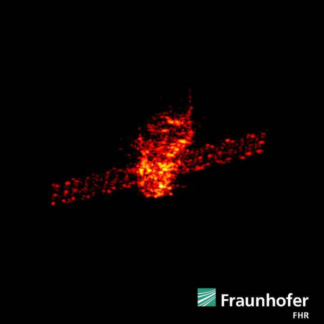 Tiangong-1 on FHR's radar