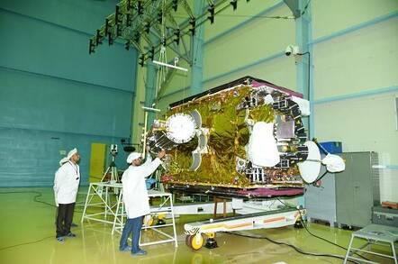 GSAT-6A communications satellite (pic: ISRO)