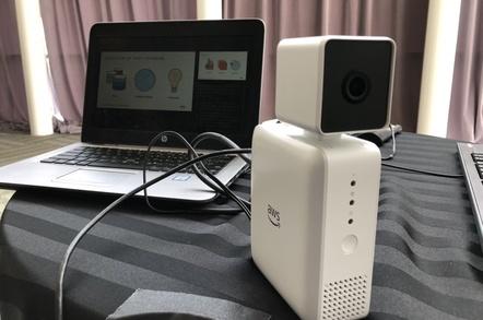 AWS DeepLens camera