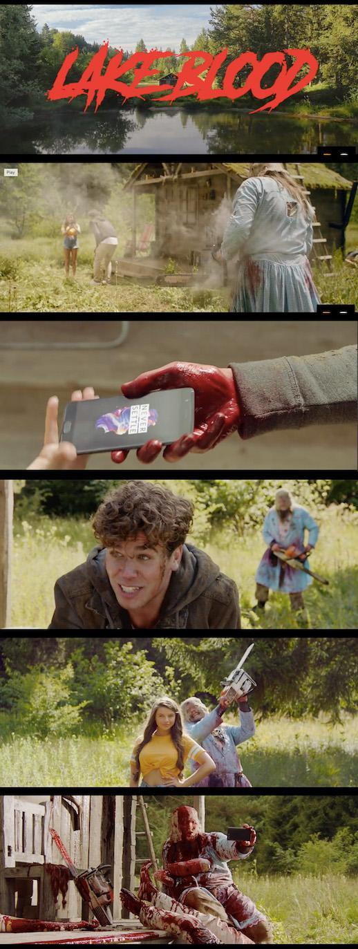 OnePlus ad Lake Horror