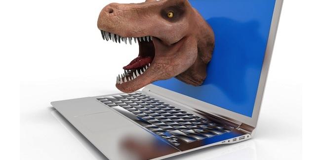 VR dinosaur