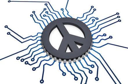 Peace Symbol CPU