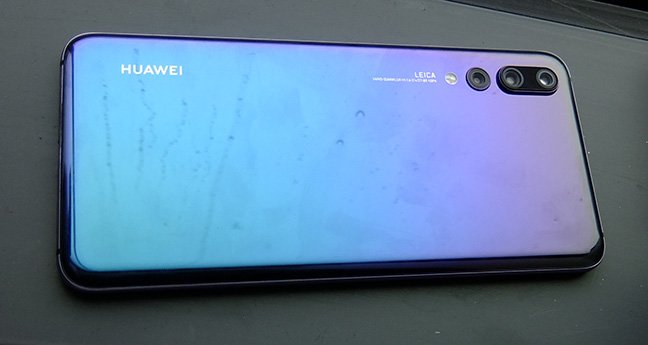 Huawei P20 Pro in the flesh