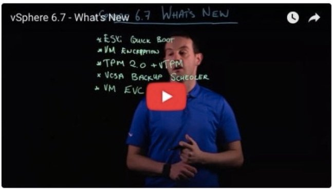 new features of vsphere 6.7