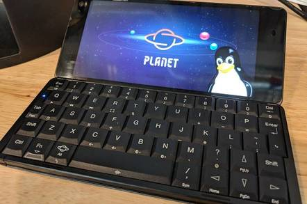 Gemini: Vulture gives PDA some Linux lovin' • The Register