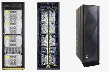 IBM z14 ZR1 mainframe