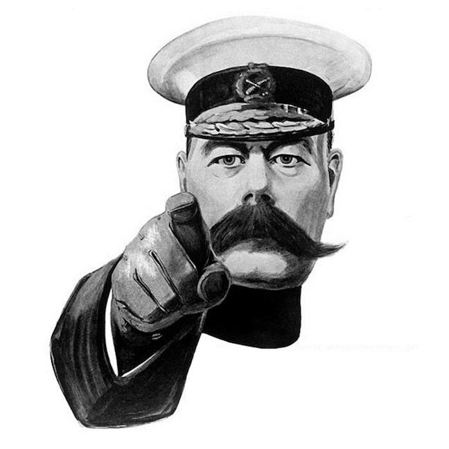 Lord Kitchener Pointing At Reader