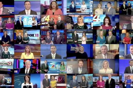 Still from Deadspin's montage of Sinclair news broadcasts