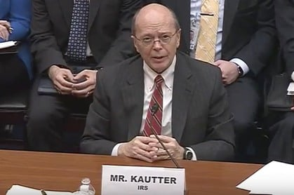Acting IRS Commissioner David J. Kautter