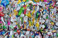 Plastic waste bottles polyethylene recycling