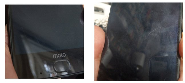 Motorola Z2 Force scratchy