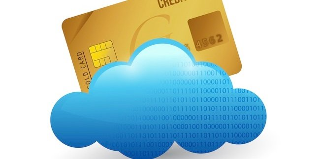 Credit card in the cloud