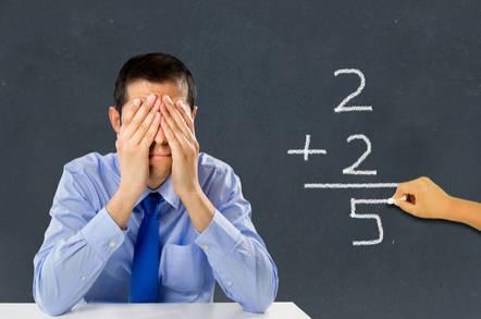 Teacher despairs at pupil's poor arithmetic