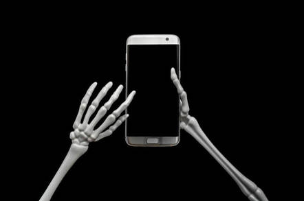 Skeleton Using Cell Phone