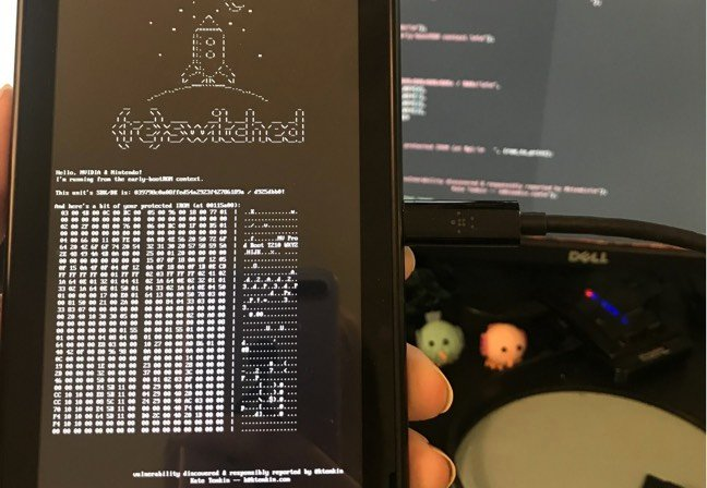 The Nintendo Switch has been hacked and the tools are public