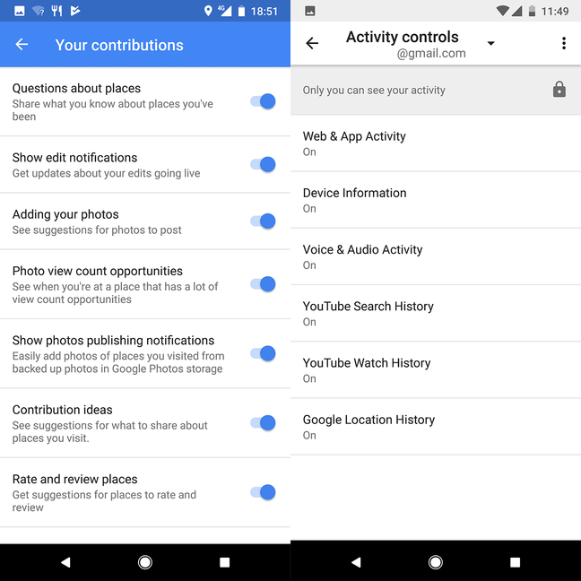Google Pixel 2 Your Contributions