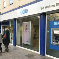 TSB bank in a UK high street