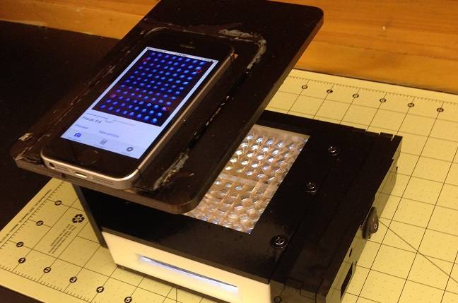 Smartphone Disease Detector (Source: Lei Li, Washington State University)