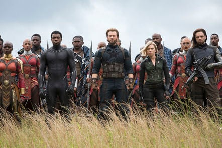 Marvel's Avengers:Infinity War still shot