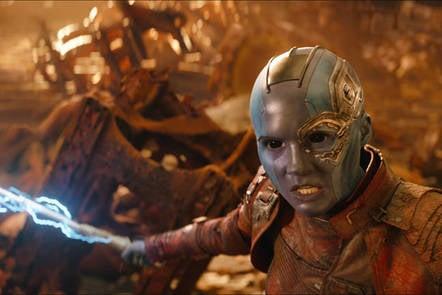 Marvel's Avengers:Infinity War still shot